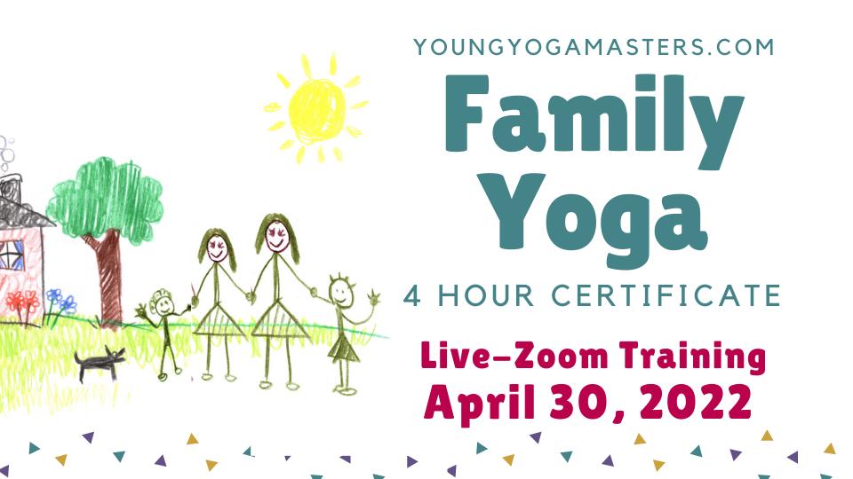 Family Yoga Kids Yoga Teacher Training Button