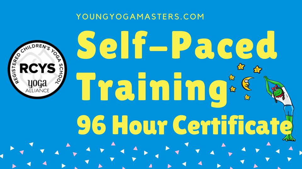 95 Hour childrens yoga teacher certificate bundle